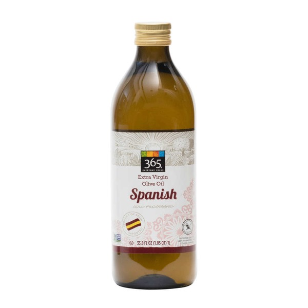 365 Spanish Cold Processed Extra Virgin Olive Oil