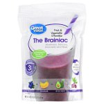 Great Value Fruit & Vegetable Smoothie, The Brainiac, 24 oz