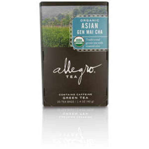 Allegro Organic Asian Gen Mai Cha Green Tea