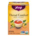 Yogi Throat Comfort Soothes The Throat - 16 CT