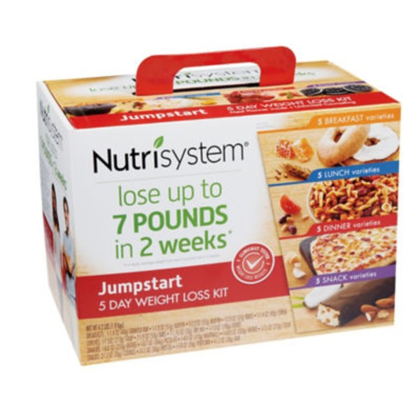 Nutrisystem Jumpstart 5 Day Weight Loss Kit