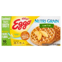 Kellogg's Eggo Nutri-Grain Low Fat Waffles 12.3 oz. Box