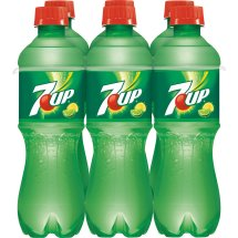 7UP, 0.5 L, 6 pack