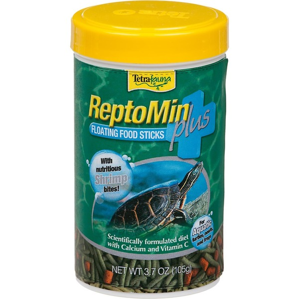 Tetra Fauna Repto Min Plus Floating Food Sticks With Shrimp Bites