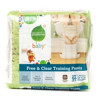 Seventh Generation Unisex Free & Clear 2T-3T up to 34 lbs Baby Training Pants
