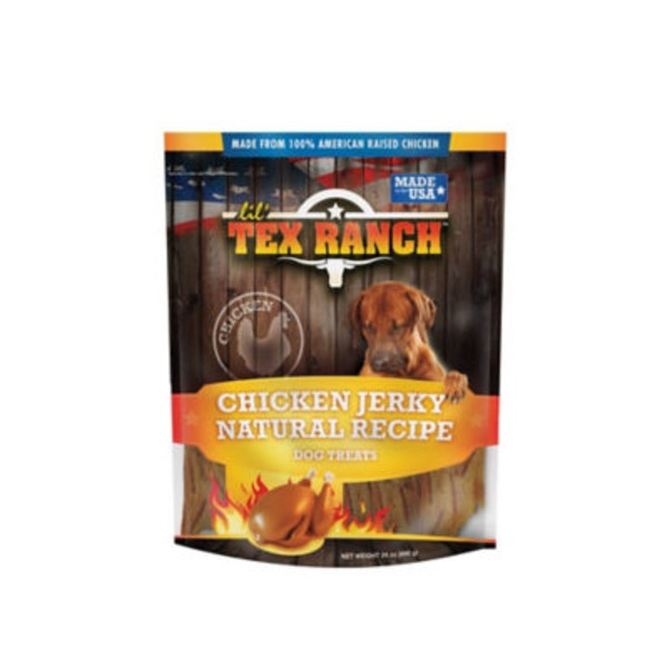 Lil Tex Ranch Natural Recipe Chicken Jerky Dog Treats