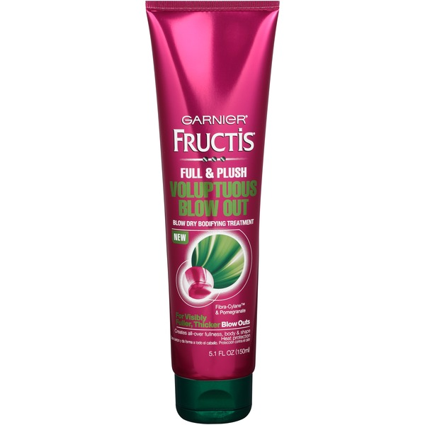 Fructis® For Visibly Fuller, Thicker Blow Outs Voluptuous Blow-Out