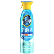 Pledge Multi Surface Everyday Cleaner with Glade Rainshower 9.7 Ounces.