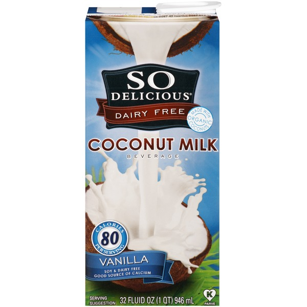 So Delicious Vanilla Coconut Milk
