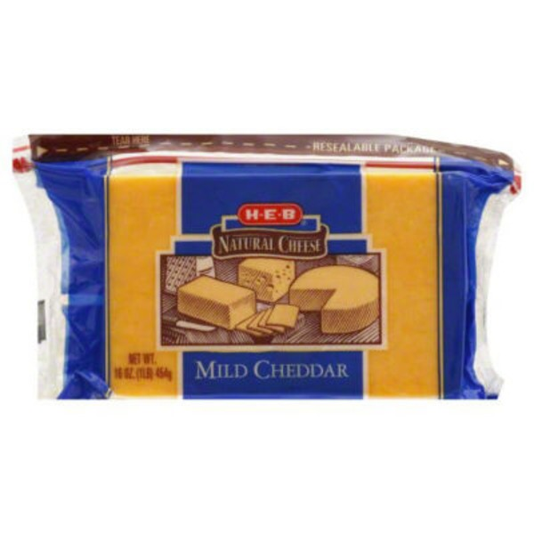 H-E-B Natural Cheese Mild