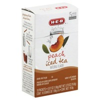 H-E-B To Go Peach Iced Tea Drink Mix