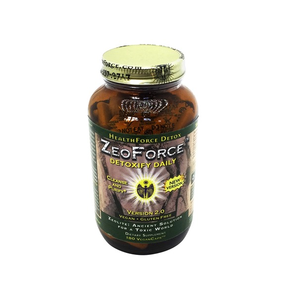 HealthForce Nutritionals ZeoForce Detoxify Daily VeganCaps