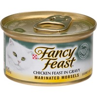 FANCY FEAST WET Purina Fancy Feast Marinated Morsels Chicken Feast in Gravy Cat Food