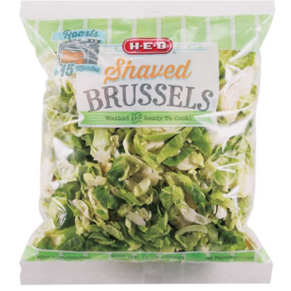 H-E-B Shaved Brussels