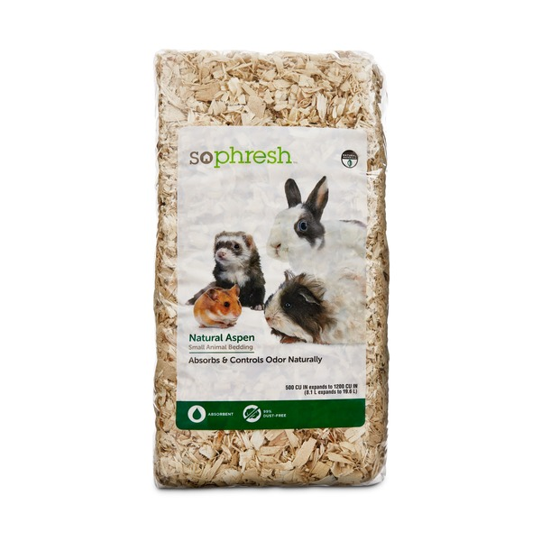 So Phresh Natural Aspen Small Animal Bedding Absorbs & Control Odor Naturally