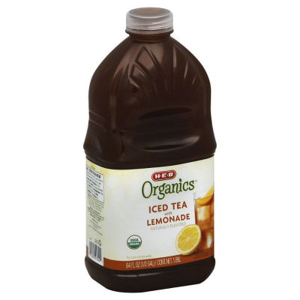 H-E-B Organics. Iced Tea With Lemonade