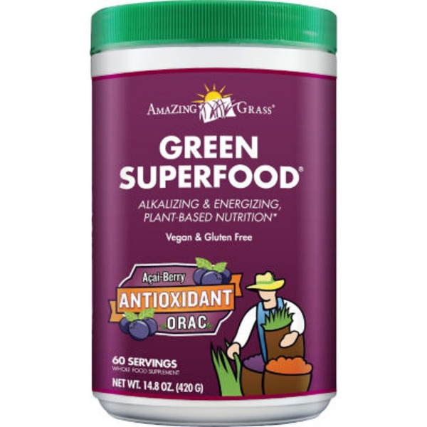 Amazing Grass Green Superfood Acai Berry Drink Powder