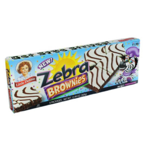 Little Debbie Brownies, Zebra