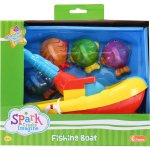 Spark Create Imagine Fishing Boat, 6 pieces