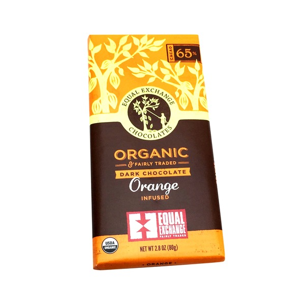 Equal Exchange Organic Orange Dark Chocolate