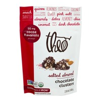 Theo Chocolate Clusters Salted Almond
