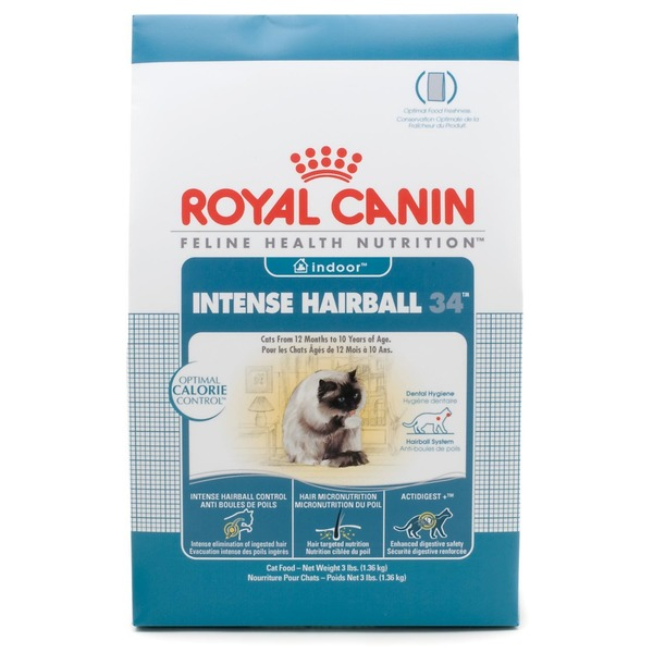 Royal Canin Indoor Intense Hairball 34 Cat Food