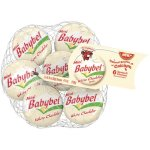 Mini Babybel White Cheddar Semisoft Cheese, 6 ct