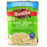 Idahoan Foods Idahoan Sour Cream & Chive Mashed Potatoes, 8 oz