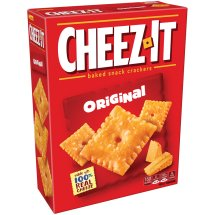 Cheez-It Baked Snack Crackers Original, 12.4 OZ box