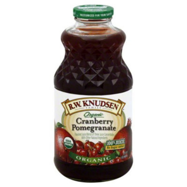 R.W. Knudsen Family Organic Juice Cranberry Pomegranate