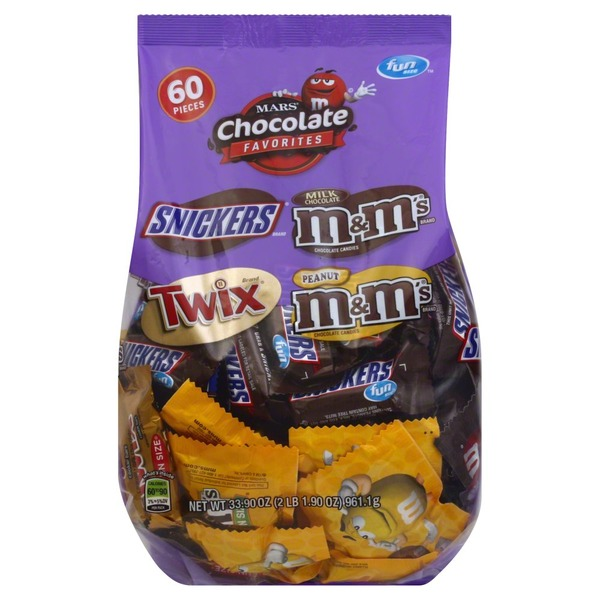 Mars Chocolate Favorites Fun Size Variety Pack