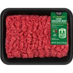 93% Lean/7% Fat, Lean Ground Beef Tray, 2.25 Lbs.