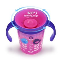 Munchkin Miracle 360 Deco Spoutless Trainer Sippy Cup