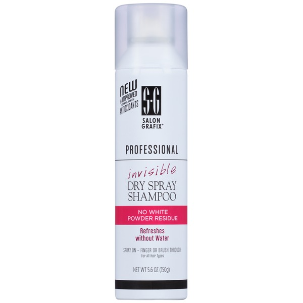 Salon Grafix Professional Invisible Dry Spray Shampoo