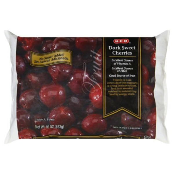 H-E-B Frozen Dark Sweet Cherries