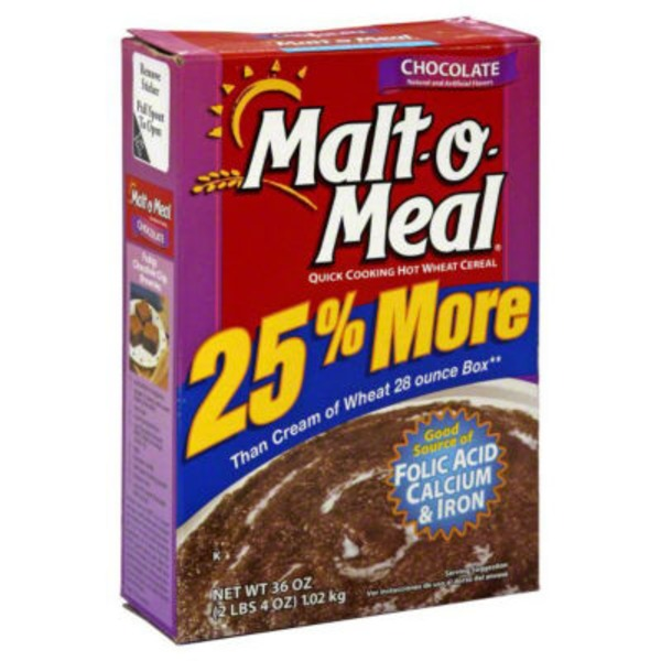Malt-O-Meal Chocolate Hot Wheat Cereal