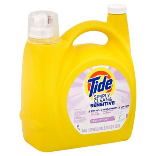 Tide Detergent, Simply Clean & Sensitive, Cool Cotton