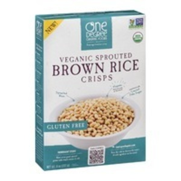 One Degree Organics Sprouted Brown Rice Crisps