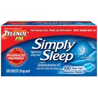 Simply Sleep™ Caplets Nighttime Sleep Aid