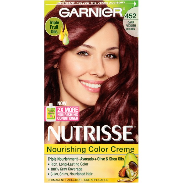 Nutrisse® 452 Dark Reddish Brown (Chocolate Cherry) Nourishing Color Creme