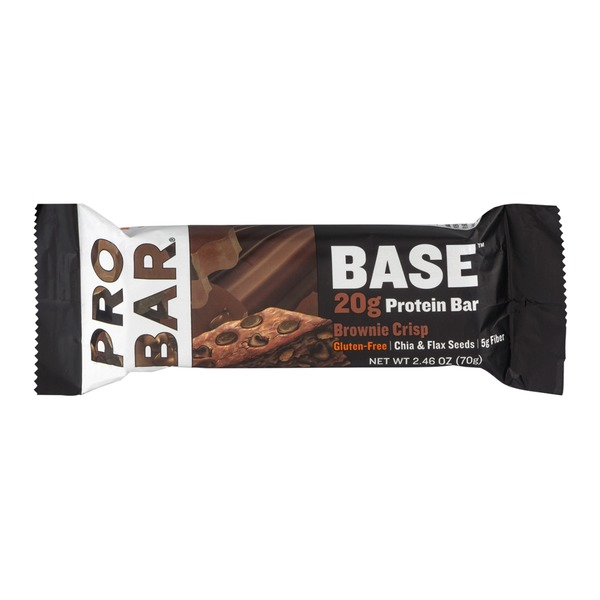 PROBAR Base 20g Protein Bar Brownie Crisp