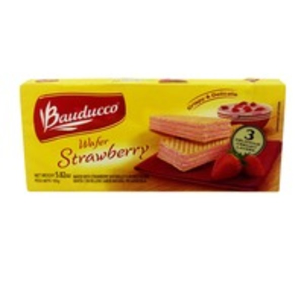 Bauducco Strawberry Wafer