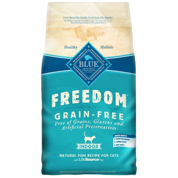 Blue Buffalo Freedom Grain-Free Natural Fish Recipe for Cats