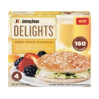 Jimmy Dean Delights Honey Wheat Flatbread Egg White with Spinach & Mozzarella-Style Cheese
