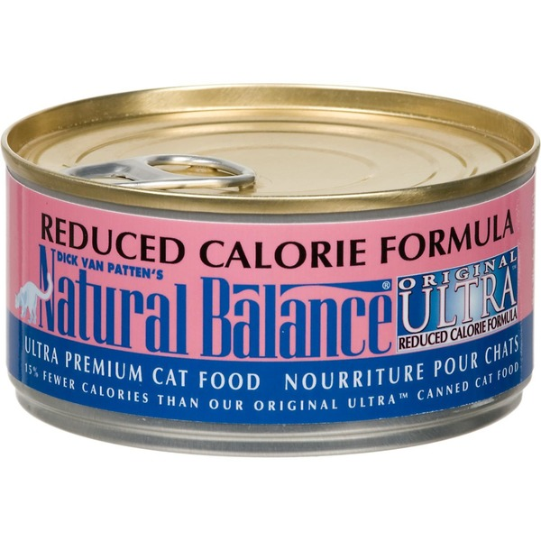 Natural Balance Reduced Calorie Formula Ultra Premium Canned Cat Food