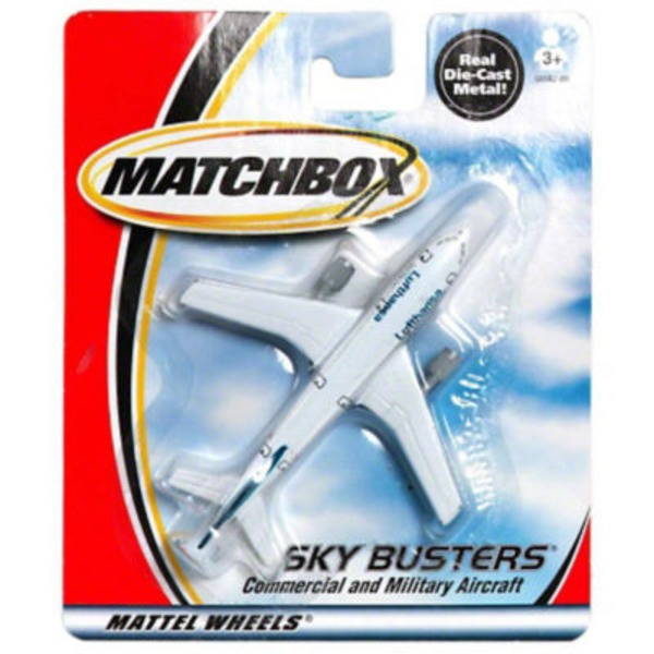 Mattel Matchbox Sky Busters Commercial And Military Aircraft