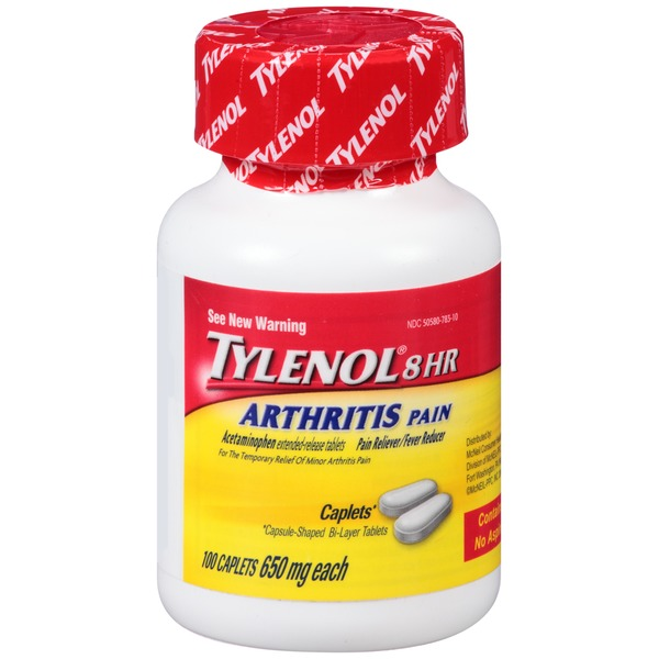 Tylenol® 8 HR Arthritis Pain Acetaminophen Extended-Release Tablets