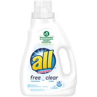 All Free & Clear with Stainlifters Detergent - 33 Loads