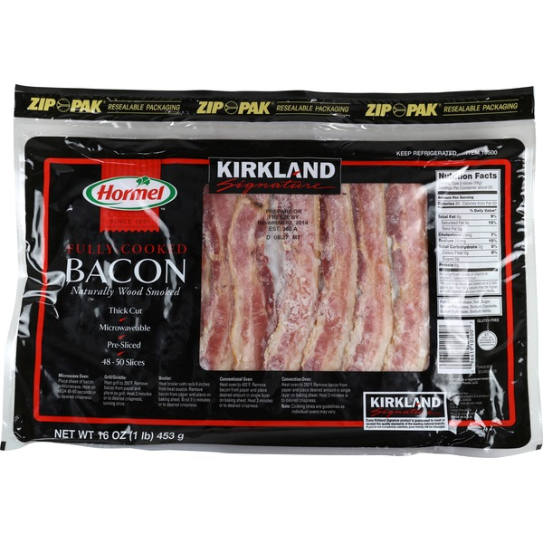 Hormel Fully-Cooked Naturally Wood Smoked Bacon