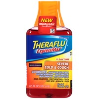 Theraflu ExpressMax Daytime Berry Flavor Liquid Severe Cold & Cough